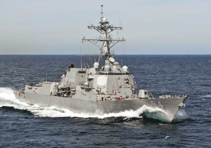 Video: US Destroyer Harassed by Iranian Patrol Boats in International Waters