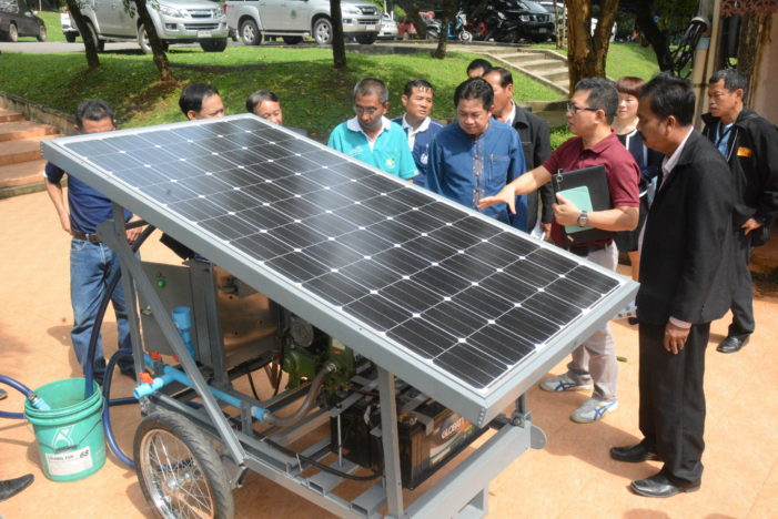 Chiang Rai Province to Promote Alternative Energy in Farming