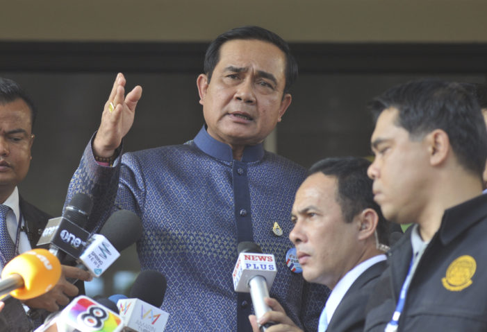 Thailand's PM tells Media to Stop Pestering Him with Questions about Bombings