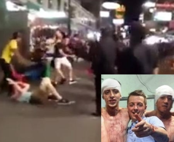 British Tourists Kicked and Beaten in Bangkok by ' Bar Bouncers'