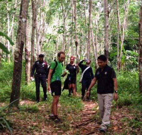 Two British Hikers Found after Being Lost Overnight in Koh Chang Forest