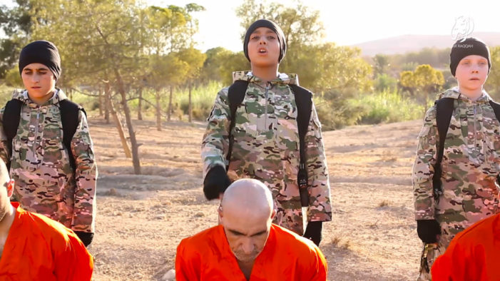 """ISIS Releases Depraved Video Showing """"White British"""" Child Executioner"""