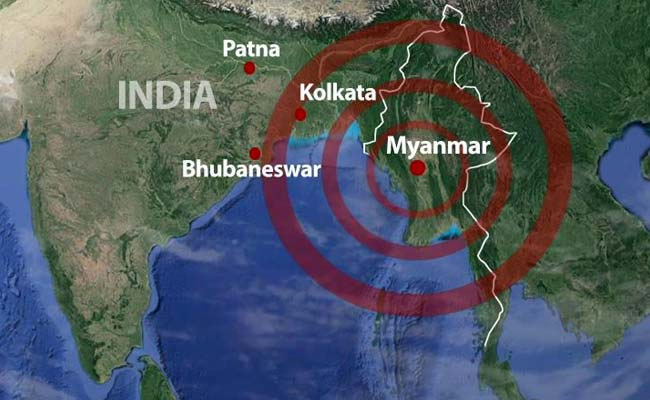 6.8 Earthquake Strikes Central Myanmar Damaging Ancient Pagodas