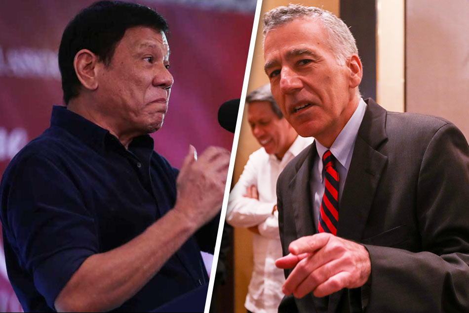 Philippines President Duterte Calls US Ambassador Philip Goldberg A Gay Son Of A Bitch