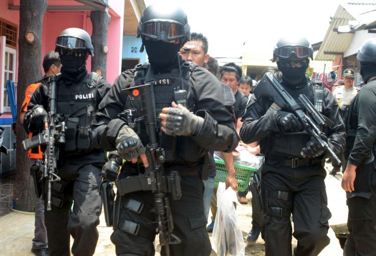 Indonesia's anti-terror squad arrests six suspects allegedly planning terror attack in Java