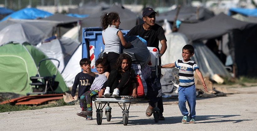 Children in Greek refugee camps sexually harassed