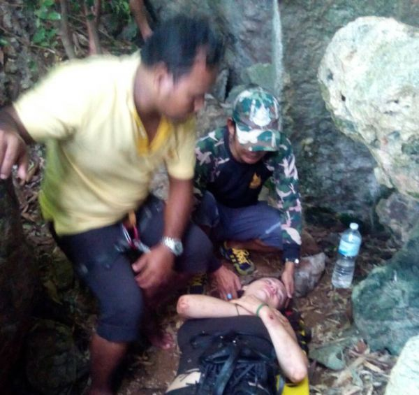 23 Year Old American Woman Falls from Cliff trying to Escape Rapist in Krabi, Thailand