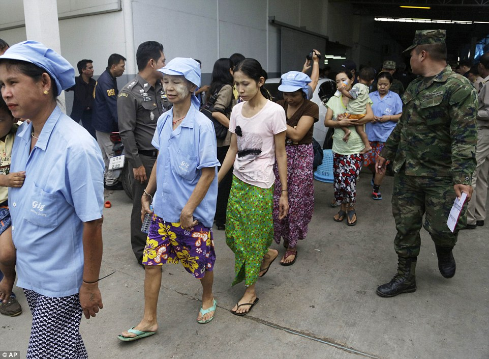 Thai Authorities Crack Down on Migrant Workers as Anti-Immigration Feelings Rise