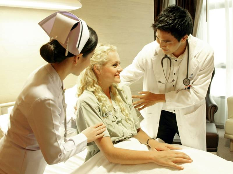 Foreigners seeking healthcare has increased by 13 percent per year.
