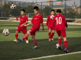 The football revolution spans from schoolyards to the top professional league.