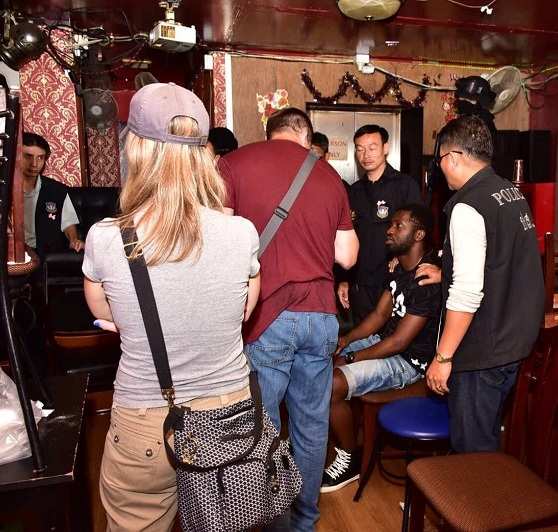 Thai Police Raid Ethiopian Pub-Restaurant in Bangkok, 65 Thai and Foreigners Detained