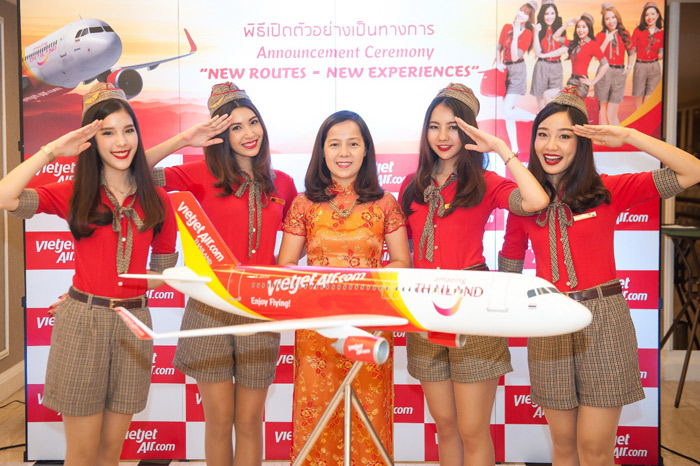 Low-Cost Airline VietJet Air to Offer Direct Flights from Chiang Rai to Phuket