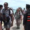 Police have been assigned to provide security around piers and ports on the tourist island during the annual fun-filled party.
