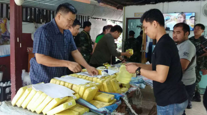 Major Drug Bust in Mae Sai Nets Half a Million Meth Pills and 7Kg or Heroin