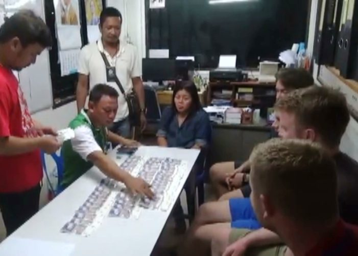 British Backpackers Arrested for Passing Fake Pound Sterling Banknotes in Koh Pangan, Thailand