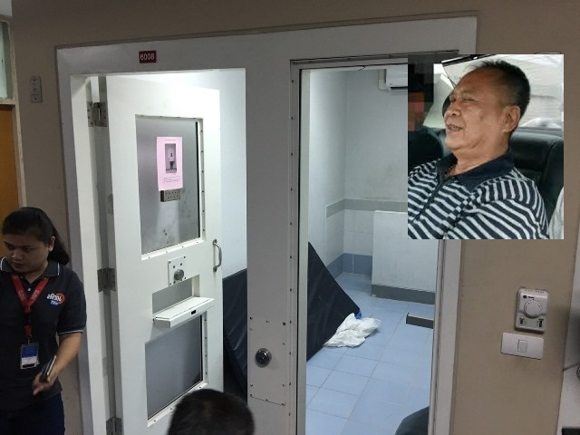 According to the Department of Special Investigation (DSI), Thawatchai, 66, tried to commit suicide by hanging himself with a pair of socks while in detention on the sixth floor of the DSI's headquarters
