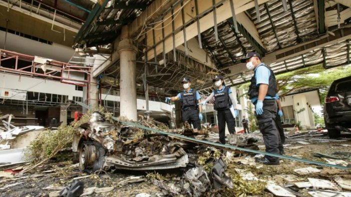 Thai Authorities Arrested First Suspect Linked to Bomb and Arson Attacks