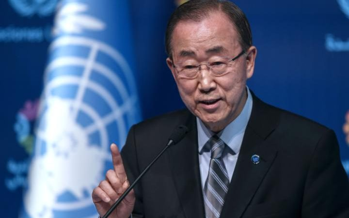 Ban also spoke candidly about his frustration at the way the U.N. operates.