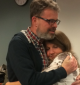 Kevin and Julia Garratt are reunited at Vancouver airport following Kevin's return to Canada.
