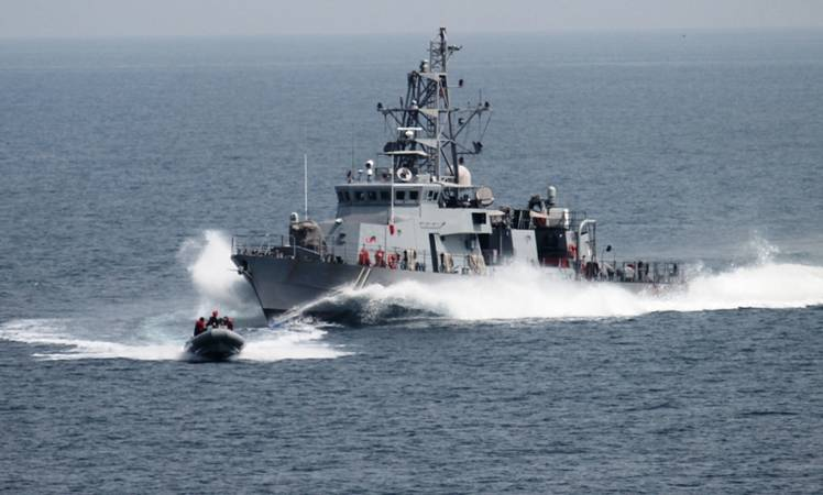 Iranian vessel sailed directly in front of the USS Firebolt, forcing the 174-foot (53-metre) U.S. ship to change course.