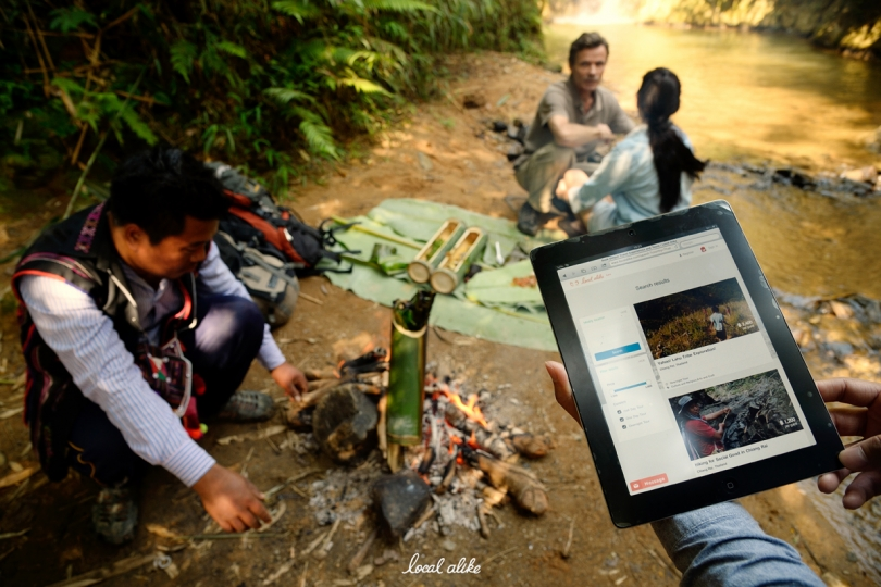 Akha hilltribe people happily lead visitors on LocalAlike mountain treks in Chiang Rai. Photo/LocalAlive