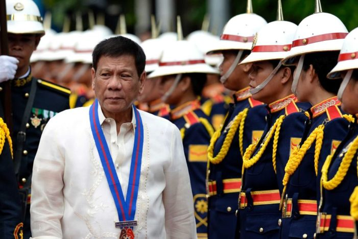 The First 100 Days of Duterte's Turbulent Rule