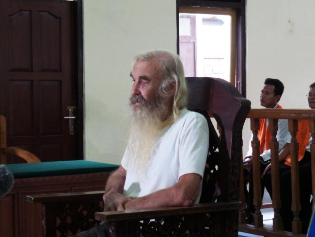 Robert Ellis was found guilty of paedophile crimes in 'one of heaviest sentences' ever handed down in Bali