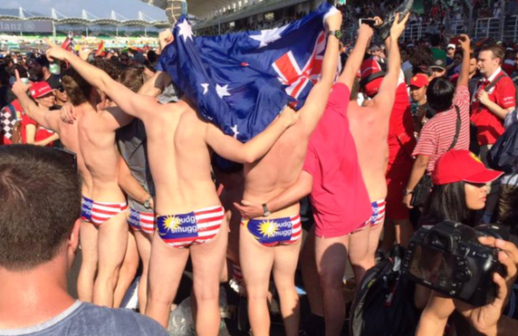 Nine Aussies Freed after Being Arrested Over Swimsuit Row at Malaysian Formula One Grand Prix