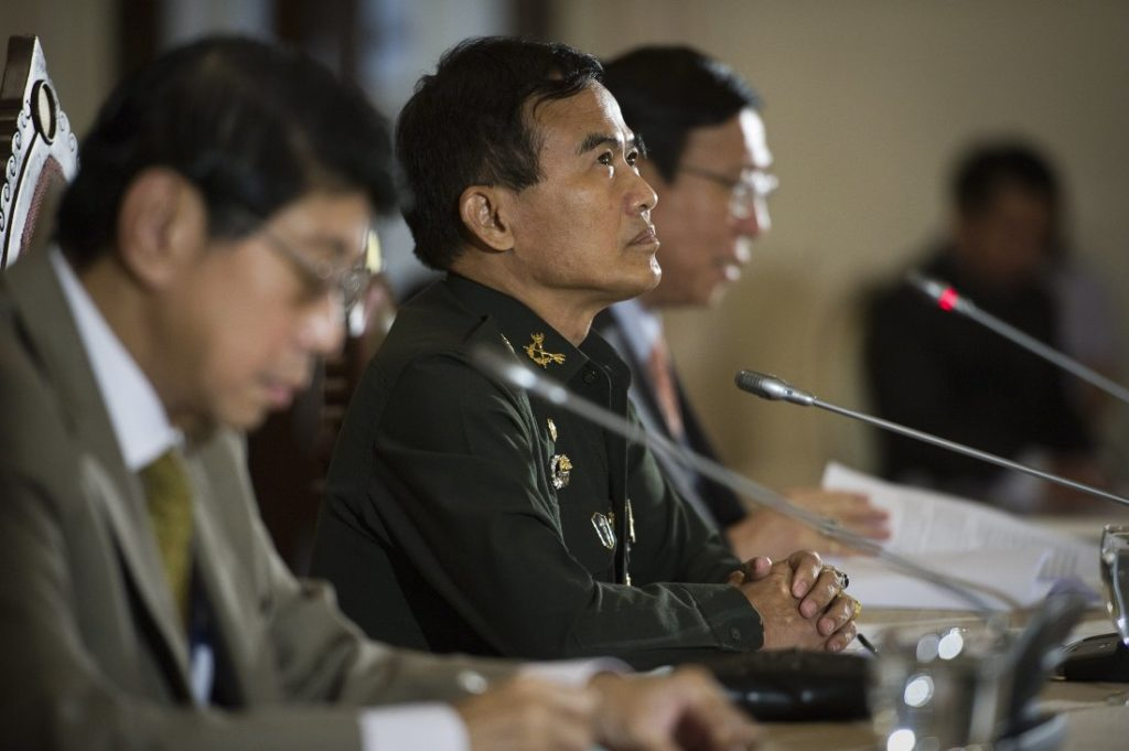 General Paiboon Koomchaya, reportedly said Wednesday that the world had lost the war on drugs and that he was proposing to take methamphetamine off Thailand's list of dangerous narcotics.