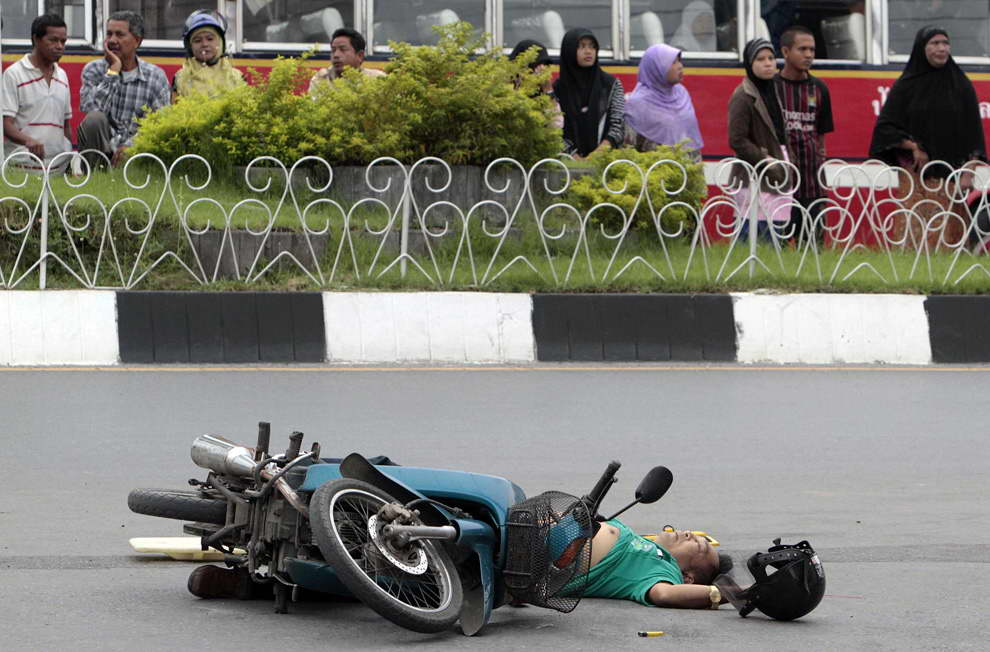 motorcycle deaths, Thailand