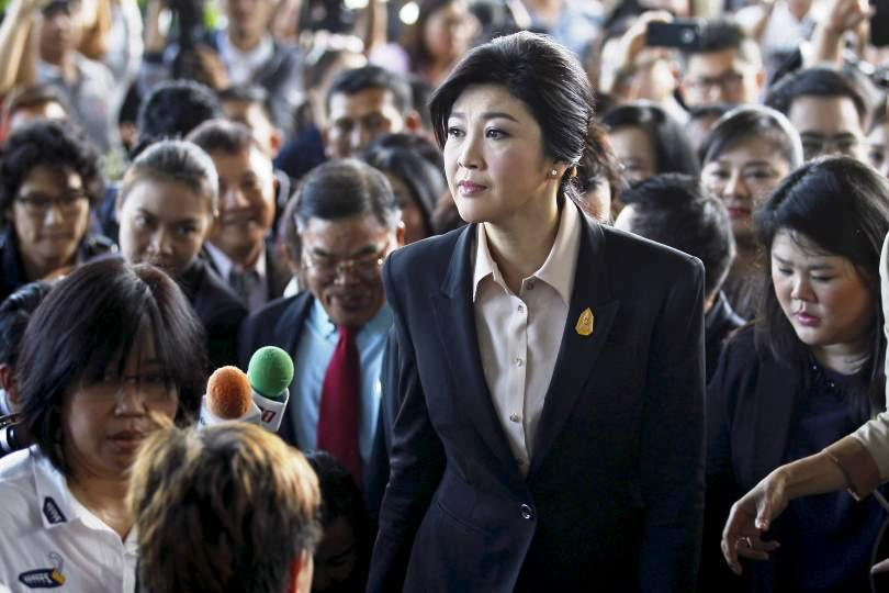 Speaking to reporters outside a Bangkok court, Ms. Yingluck said she intends to file a petition seeking to overturn the ruling.
