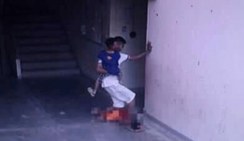 Amnart Talapthong repeatedly stomped on the boy's head and kicked him in the face.