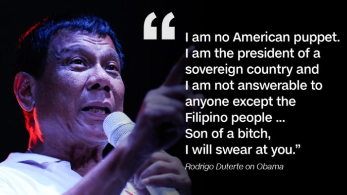 What Does Philippines Duterte's 'Separation' Teach America