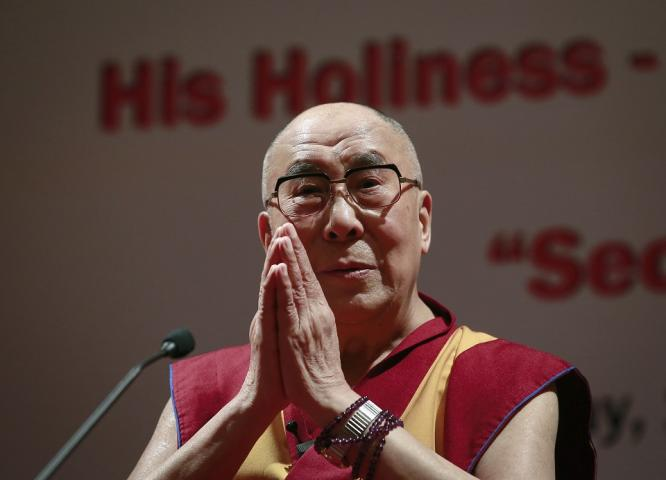 """His Holiness the Dalai Lama Say's He has """"No Worries"""" about President Elect Trump"""