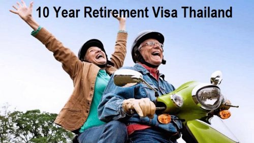 Apart from the age requirement, the visa requires eligible foreigners to have a monthly income of at least 100,000 baht or a bank deposit of at least 3 million baht