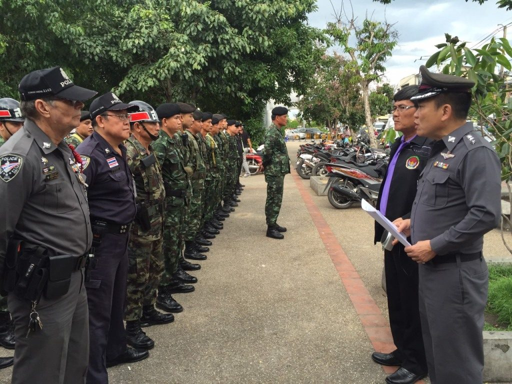 Police and Army troop reinforcements have been deployed at popular tourist spots in Chiang Rai and Chiang Ma