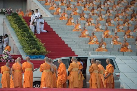 The Dhammakaya temple has repeatedly insisted on its abbot's innocence and said he was too sick to surrender for arrest.