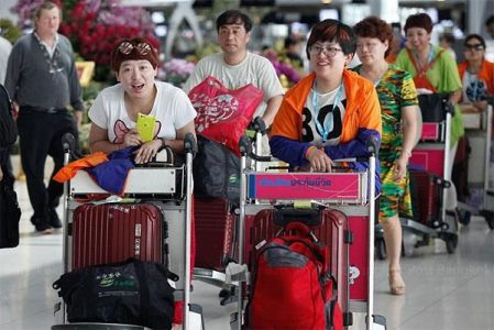 """""""zero-dollar"""" scams promised Chinese package tourists an impossibly cheap or free holiday only to pile on excessive charges once they arrive in Thailand."""