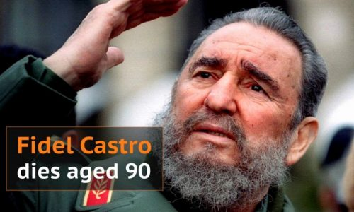 Fidel Castro, the fiery apostle of revolution who brought the Cold War to the Western Hemispher dies at age 90