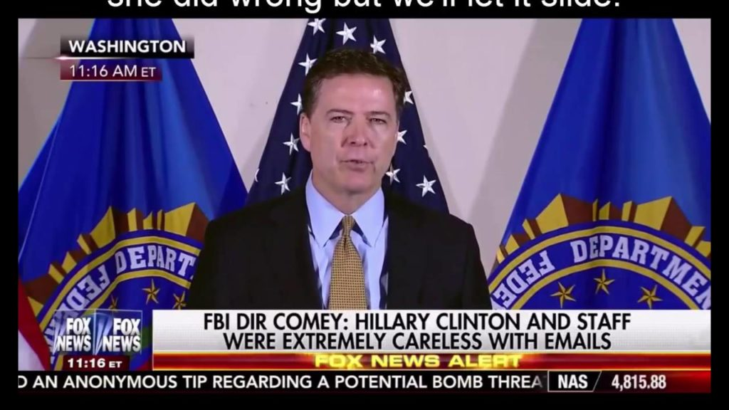 Mrs Clinton's advisers and fellow Democrats, furious over the vague letter sent by FBI director James Comey to Congress on Friday