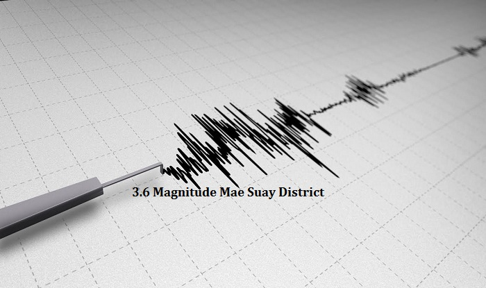 3.6 Eathquake Shakes Mae Suay and Mae Lao Districts in Chiang Rai