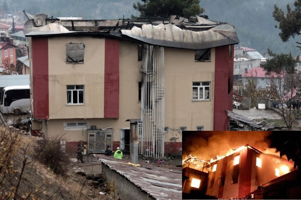 Deadly Fire at Girls Dormitory Kills 11 Students in Aladag, Turkey