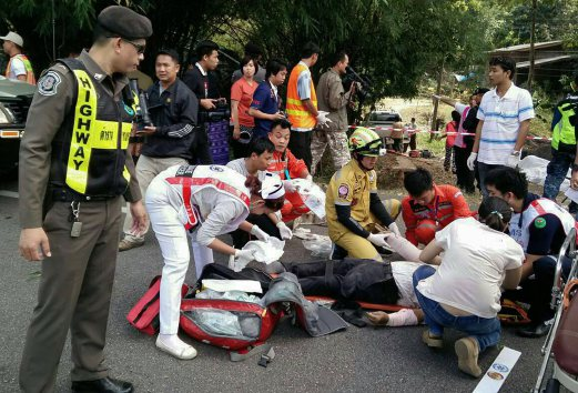Thailand: 8 Killed, 13 Injured in One Day in 3 Separate Traffic Accidents