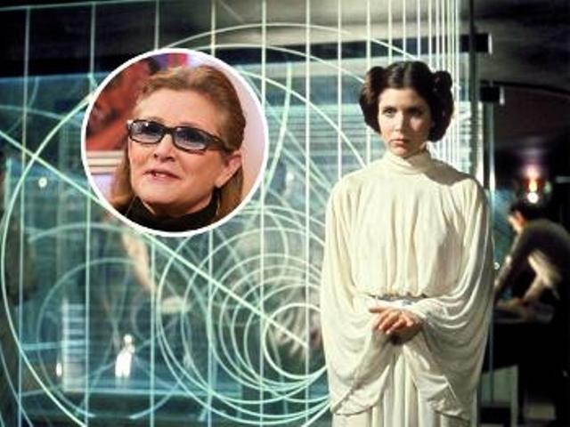 """Hollywood Actress Carrie Fisher """"Princess Leia"""" Hospitalized after Heart Attack"""