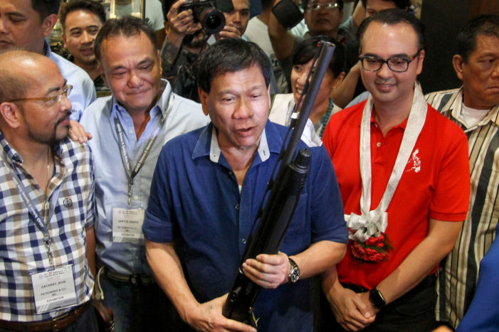 Philippine President Admits to Killing Criminals While Mayor of Davao City