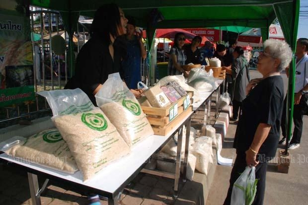Pha Muang Task Force Buys Rice Directly from Local Farmers in Chiang Rai
