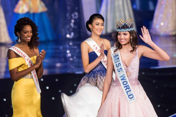 Puerto Rico's Stephanie Del Valle Crowned Miss World 2016