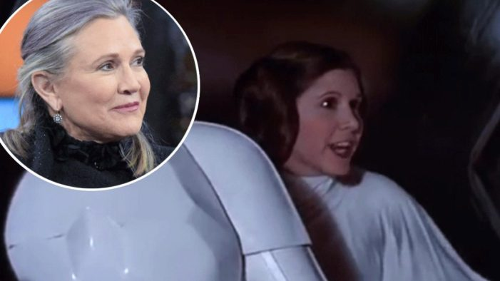 """Carrie Fisher Best Know as Princess Leia Dead at 60, """"May the Force be With Her"""""""