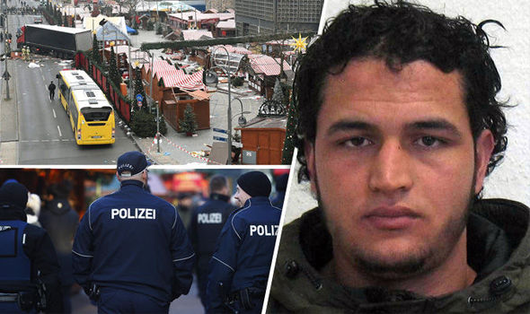 """German prosecutors have issued a Europe-wide wanted notice for 24-year-old Anis Amri, offering a 100,000-euro reward for information and warning he """"could be violent and armed"""""""