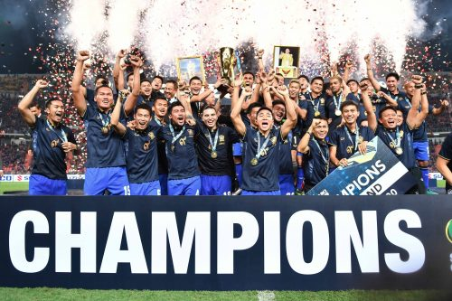 Thailand Claims Record Fifth Suzuki Cup